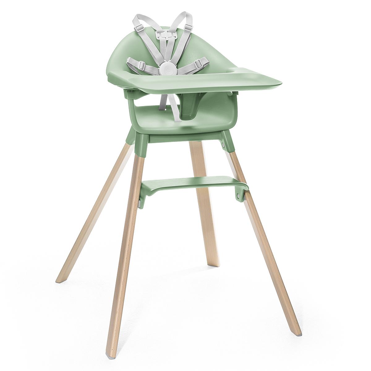 Chaise haute Chaise Haute Clikk - Vert Trèfle Chaise Haute Clikk - Vert Trèfle