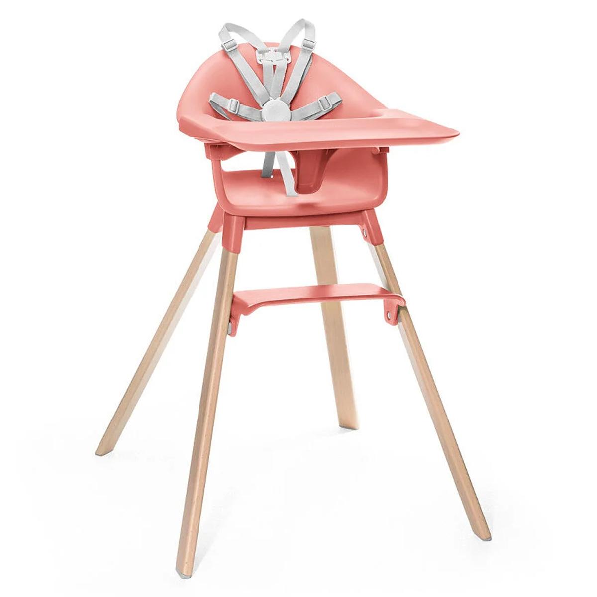 Chaise haute Chaise Haute Clikk - Corail Lumineux Chaise Haute Clikk - Corail Lumineux