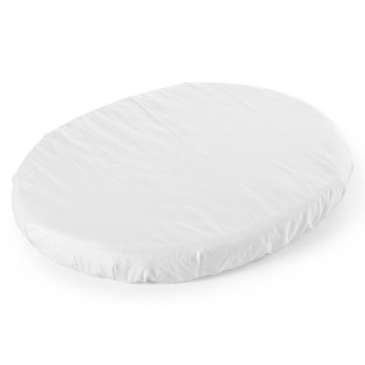 Linge de lit Drap Housse Mini Sleepi Blanc - 54 x 72 cm Drap Housse Mini Sleepi Blanc - 54 x 72 cm