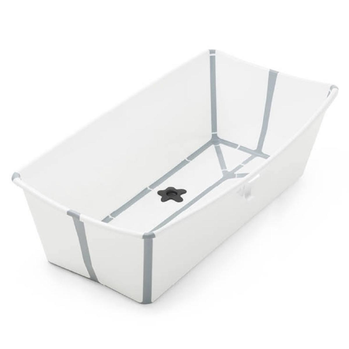Stokke Baignoire Pliable Flexi Bath X Large Blanc Baignoire Stokke Sur L Armoire De Bebe