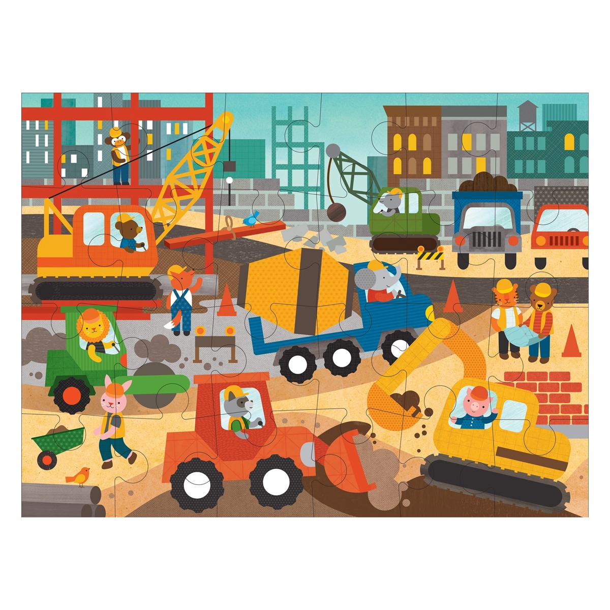 Mes premiers jouets Puzzle de Sol Le Chantier Puzzle de Sol Le Chantier
