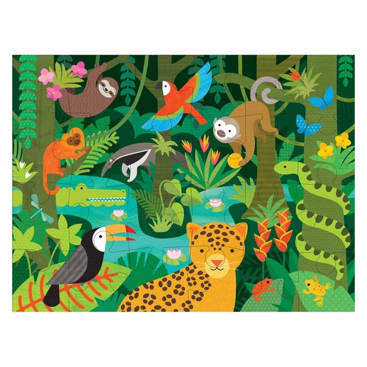 Mes premiers jouets Puzzle de Sol La Forêt Tropicale Puzzle de Sol La Forêt Tropicale