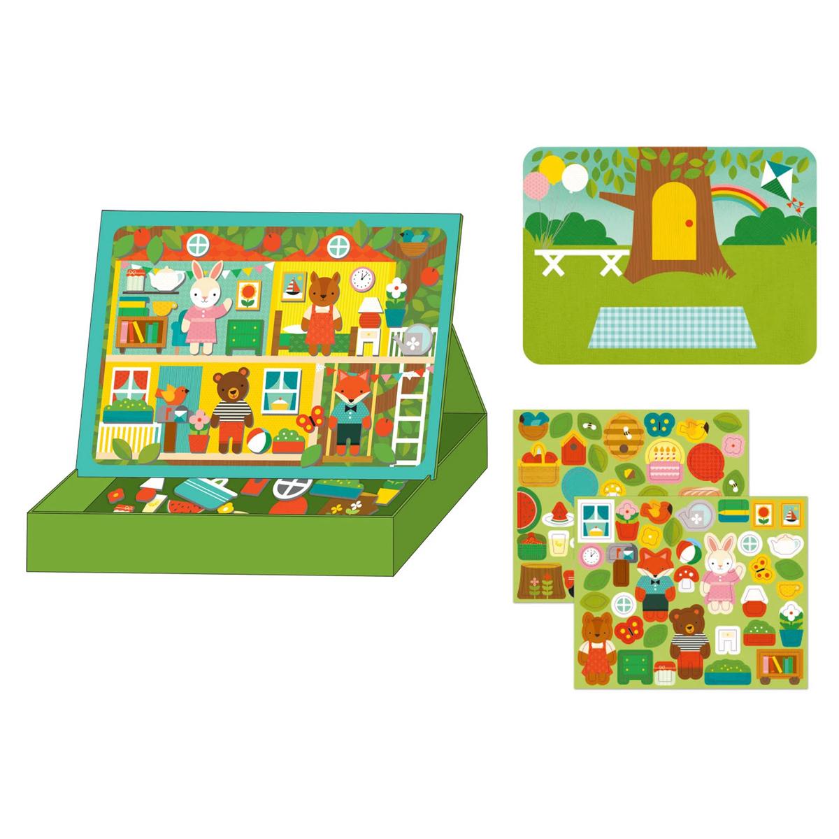 Mes premiers jouets Tableau Magnétique La Maison dans l'Arbre Tableau Magnétique La Maison dans l'Arbre