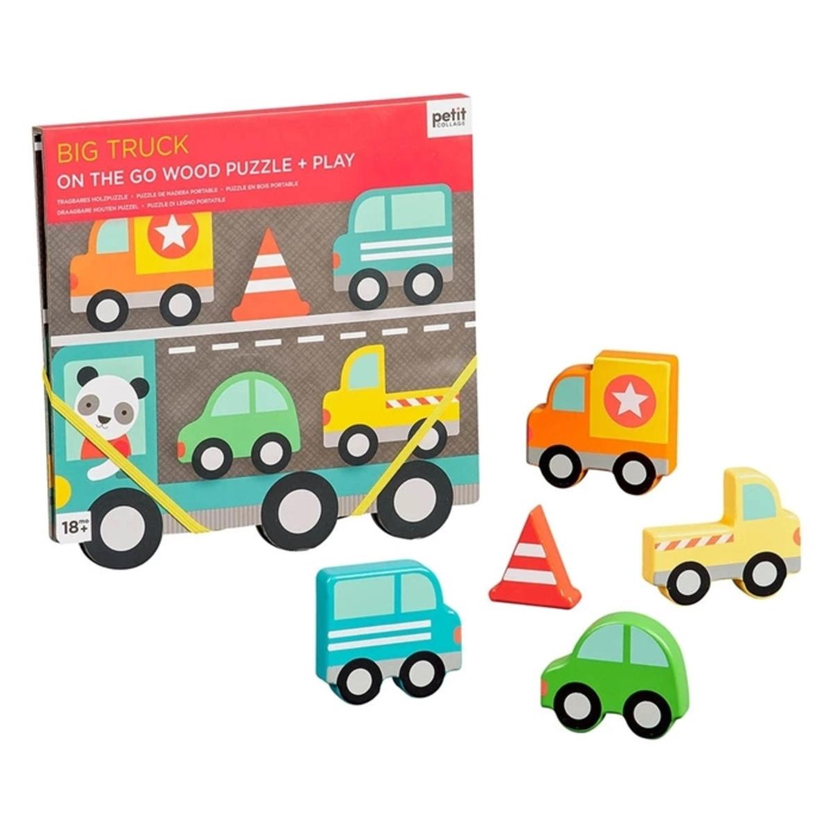 Mes premiers jouets Puzzle en Bois Les Gros Camions Puzzle en Bois Les Gros Camions