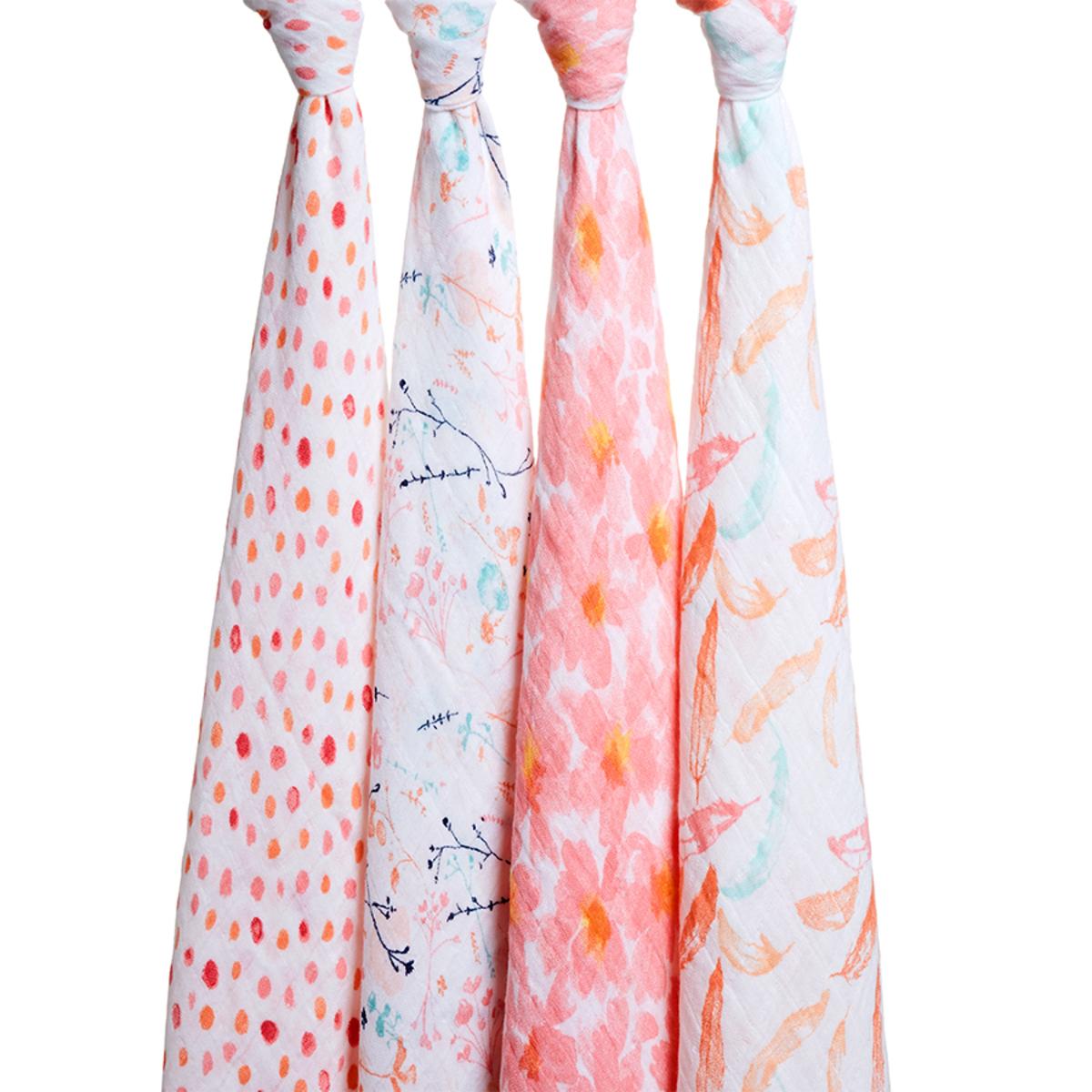 Lange Coffret de 4 Maxi-Langes - Petal Blooms Coffret de 4 Maxi-Langes - Petal Blooms