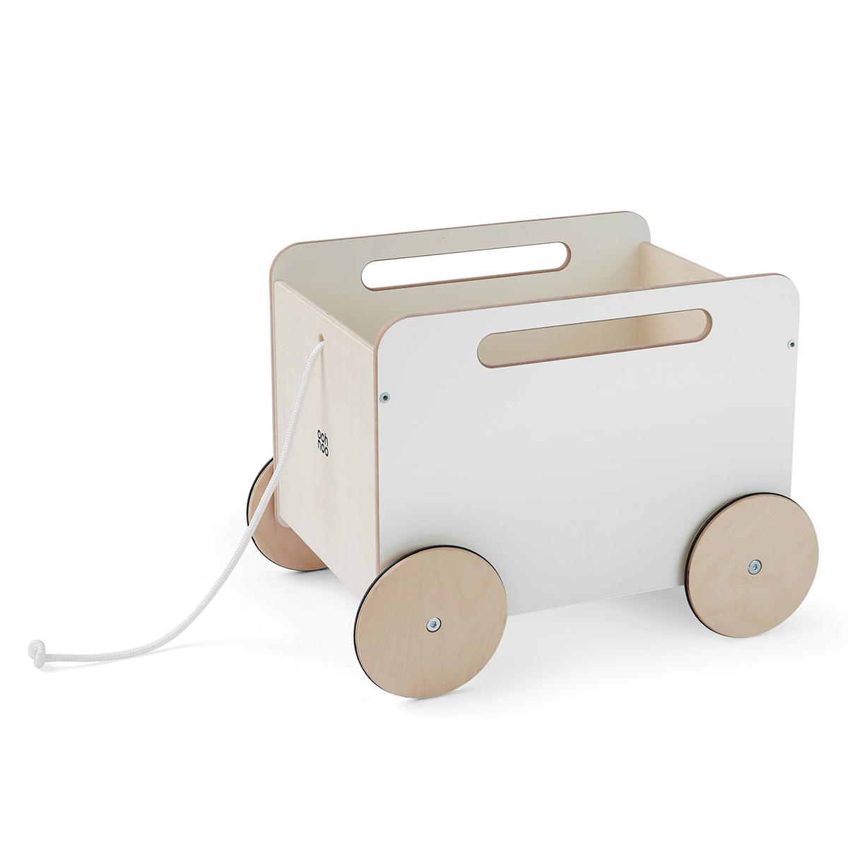 Mes premiers jouets Chariot à Jouets - Blanc Chariot à Jouets - Blanc
