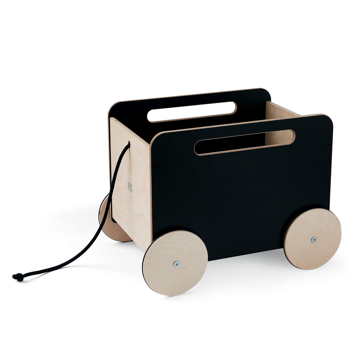Mes premiers jouets Chariot à Jouets - Noir Ardoise Chariot à Jouets - Noir Ardoise