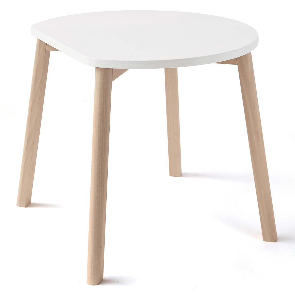 Table & Chaise Table Half-Moon - Blanc Table Half-Moon - Blanc