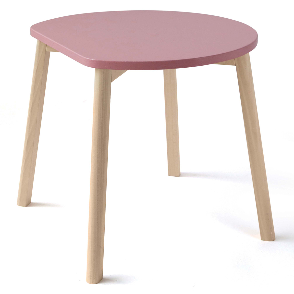 Table & Chaise Table Half-Moon - Rose Table Half-Moon - Rose