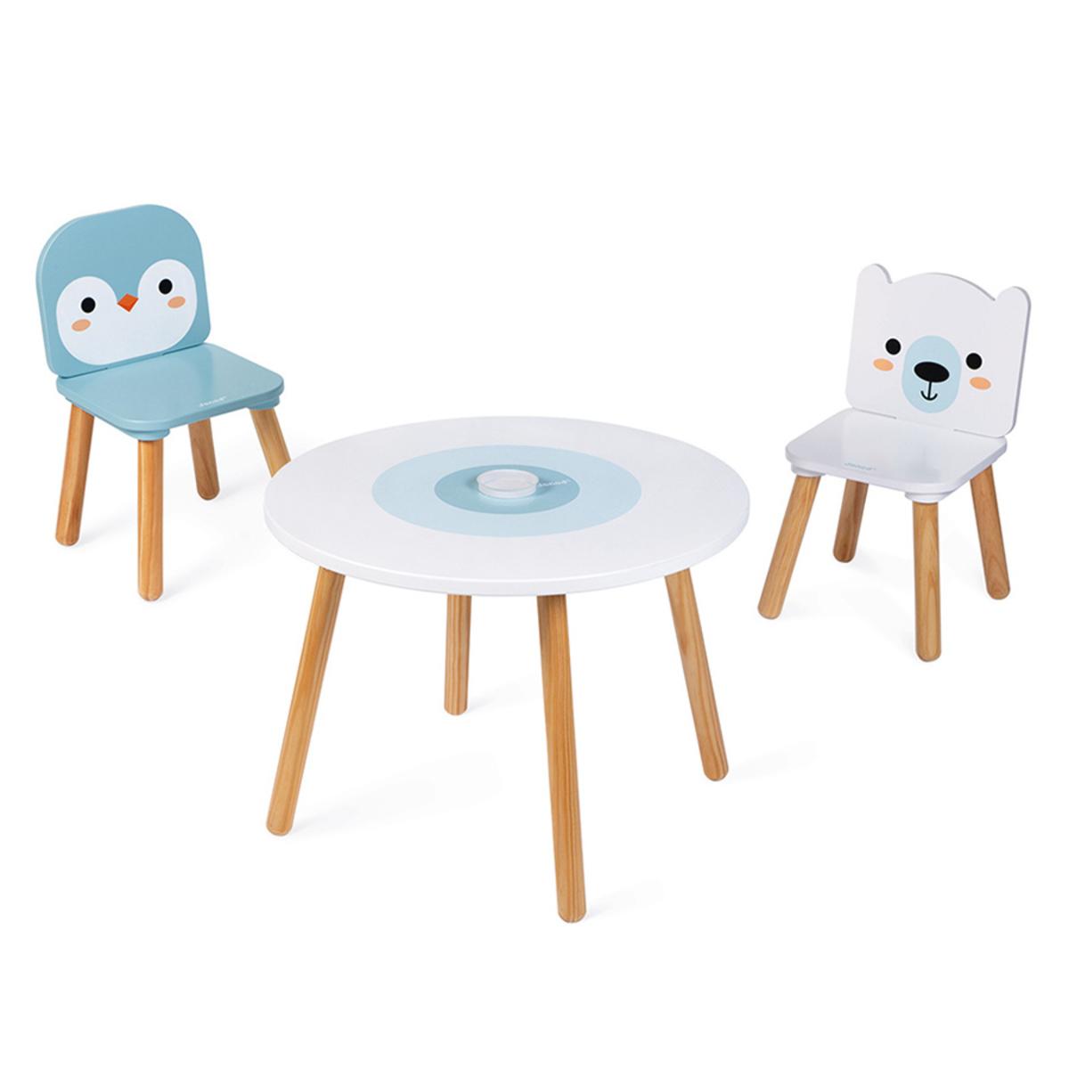 Table & Chaise Table et Chaises Banquise Table et Chaises Banquise