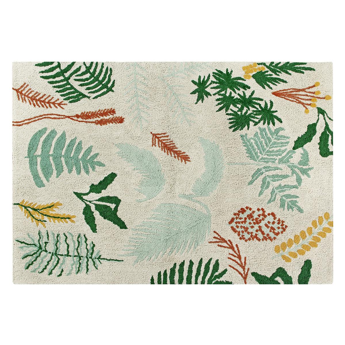 Tapis Tapis Lavable Botanic - 140 x 200 cm Tapis Lavable Botanic - 140 x 200 cm