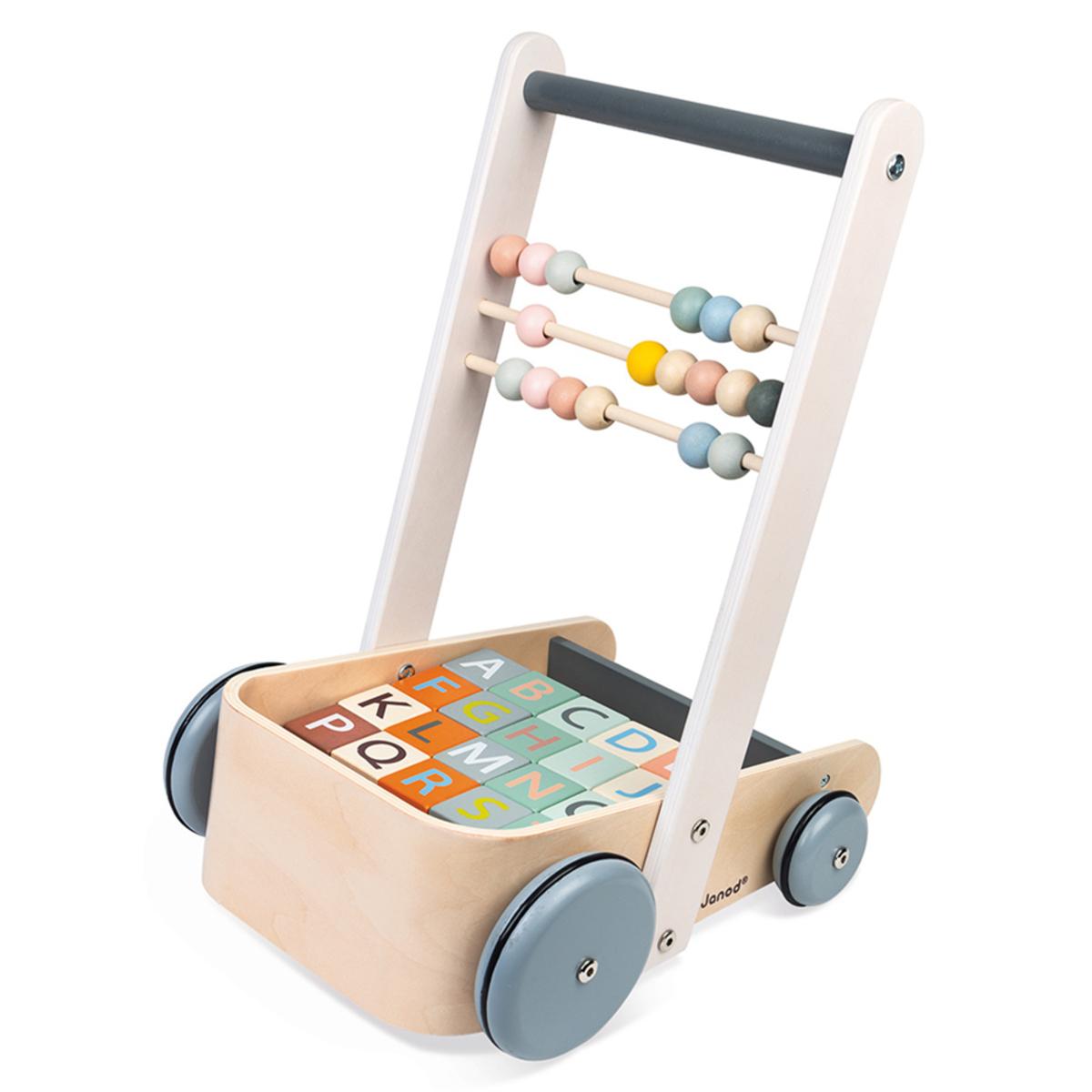 Trotteur & Porteur Chariot de Cubes ABC Sweet Cocoon Chariot de Cubes ABC Sweet Cocoon