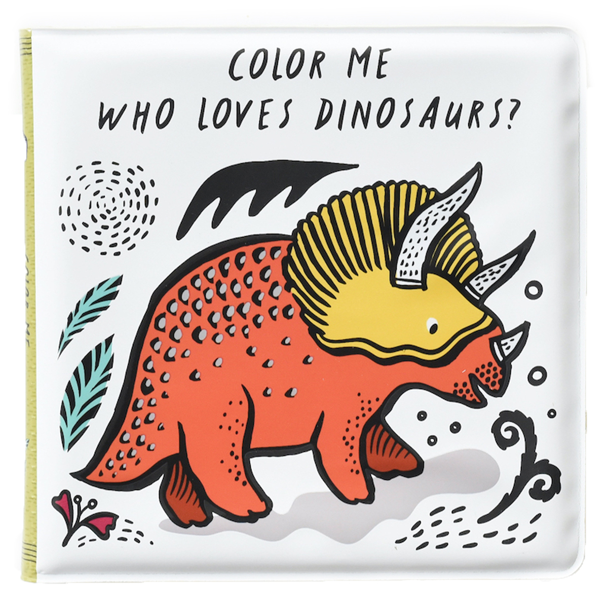 Livre & Carte Livre de Bain Color Me - Who Loves Dinosaurs Livre de Bain Color Me - Who Loves Dinosaurs