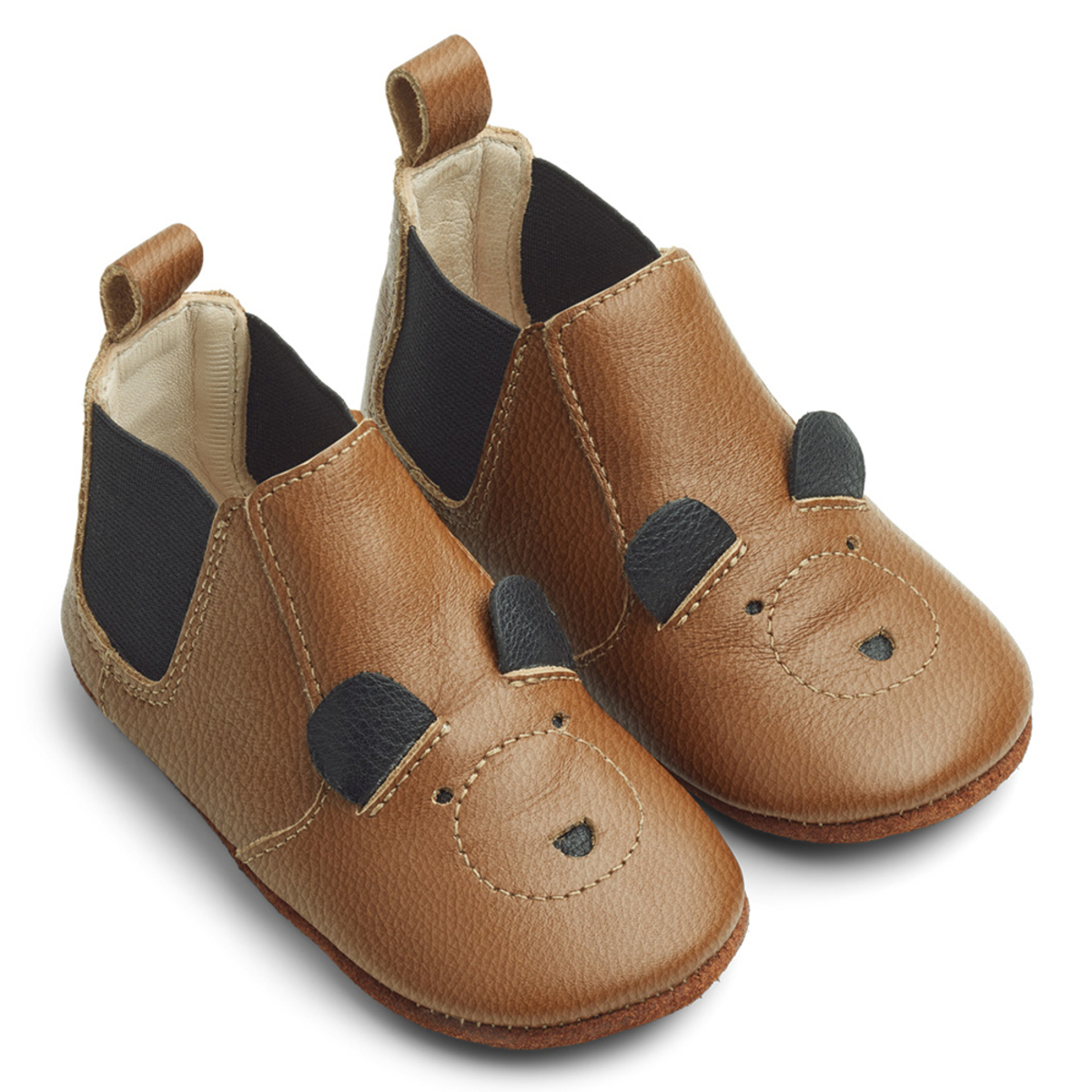 Chaussons & Chaussures Chausson Edith Mr Bear Mustard - 20 Chausson Edith Mr Bear Mustard - 20