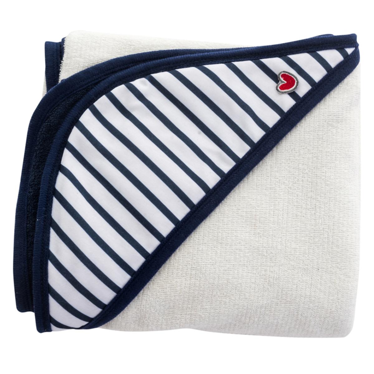 Linge & Sortie de bain Serviette Papillon - Blue Stripes Serviette Papillon - Blue Stripes
