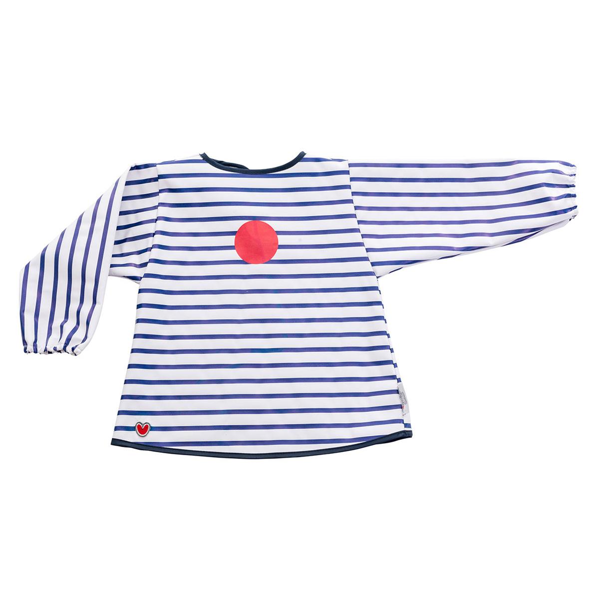 Bavoir Tablier Bavoir - Blue Stripes Tablier Bavoir - Blue Stripes
