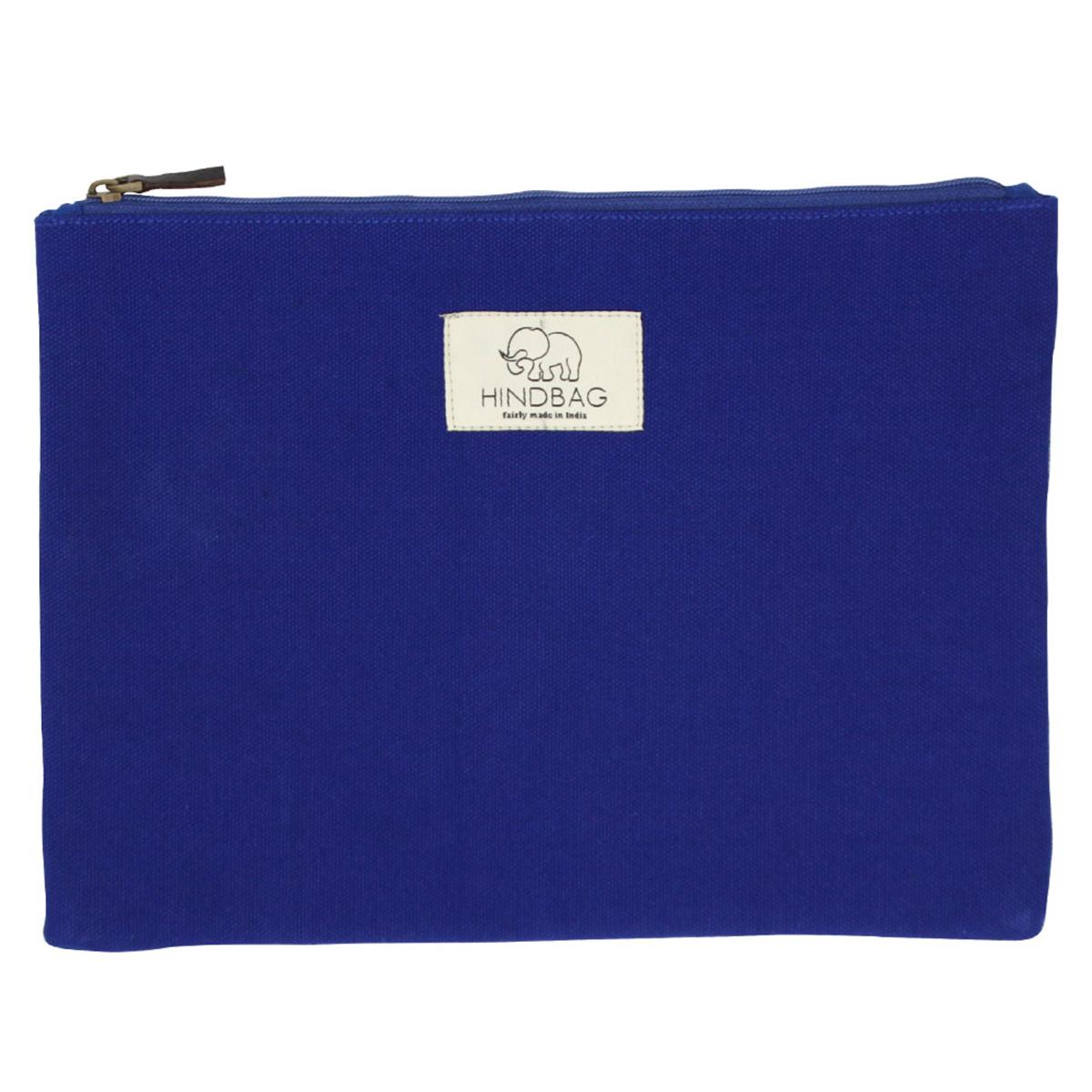 Trousse Pochette Ema - Bleu Pochette Ema - Bleu