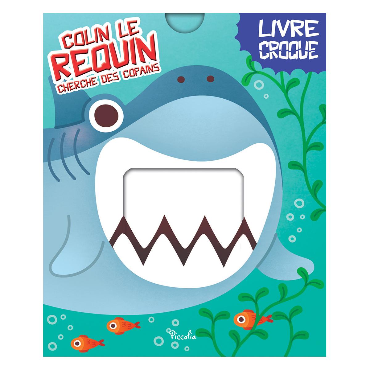 Livre & Carte Colin Le Requin Colin Le Requin
