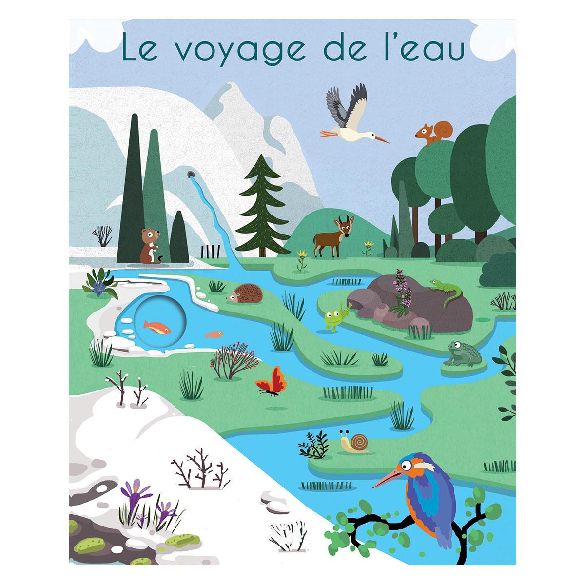 Livre & Carte Le Voyage de l'Eau Le Voyage de l'Eau