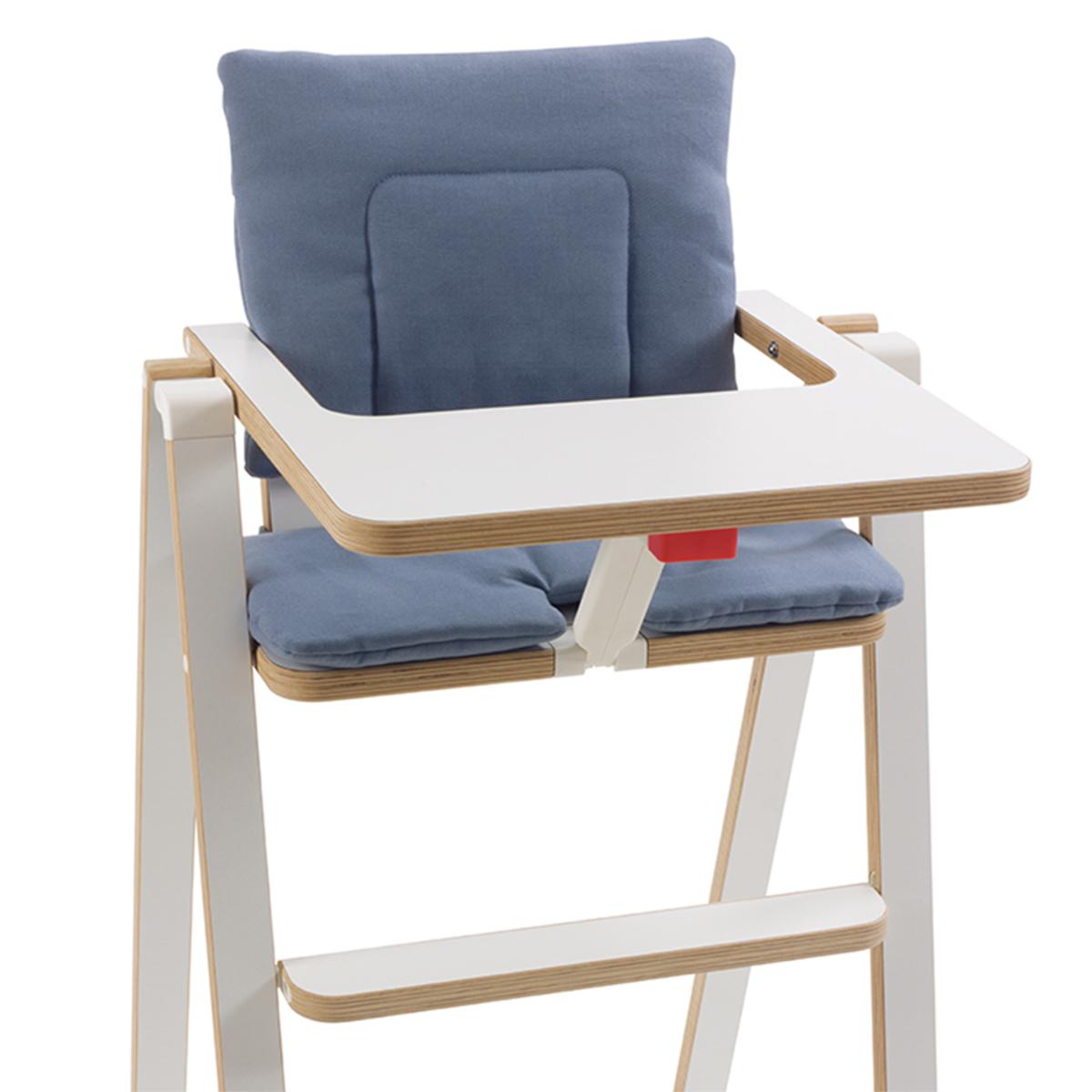 Chaise haute Coussin SUPAflat - Blue Velvet Coussin SUPAflat - Blue Velvet