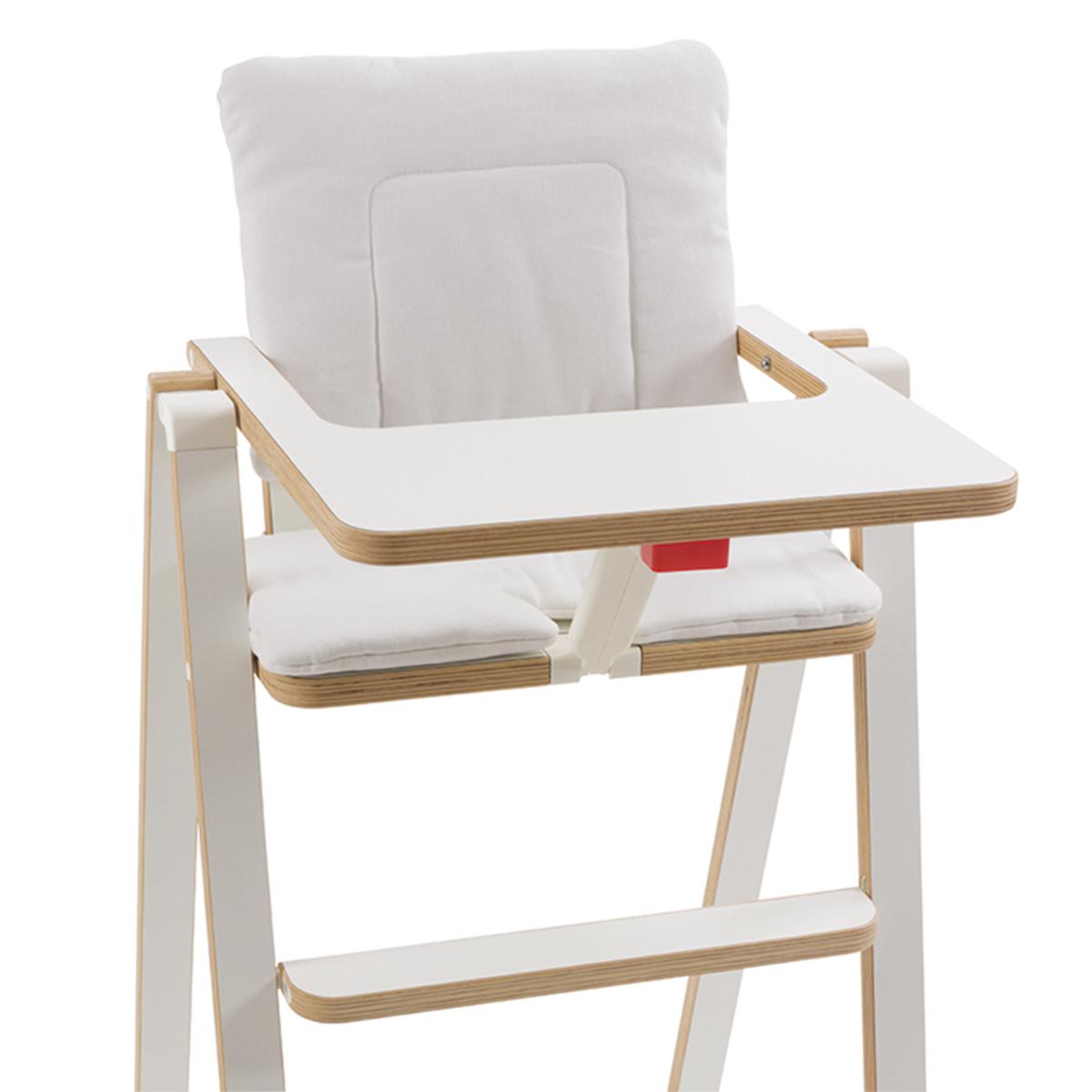 Chaise haute Coussin SUPAflat - Vanilla Marshmallow Coussin SUPAflat - Vanilla Marshmallow