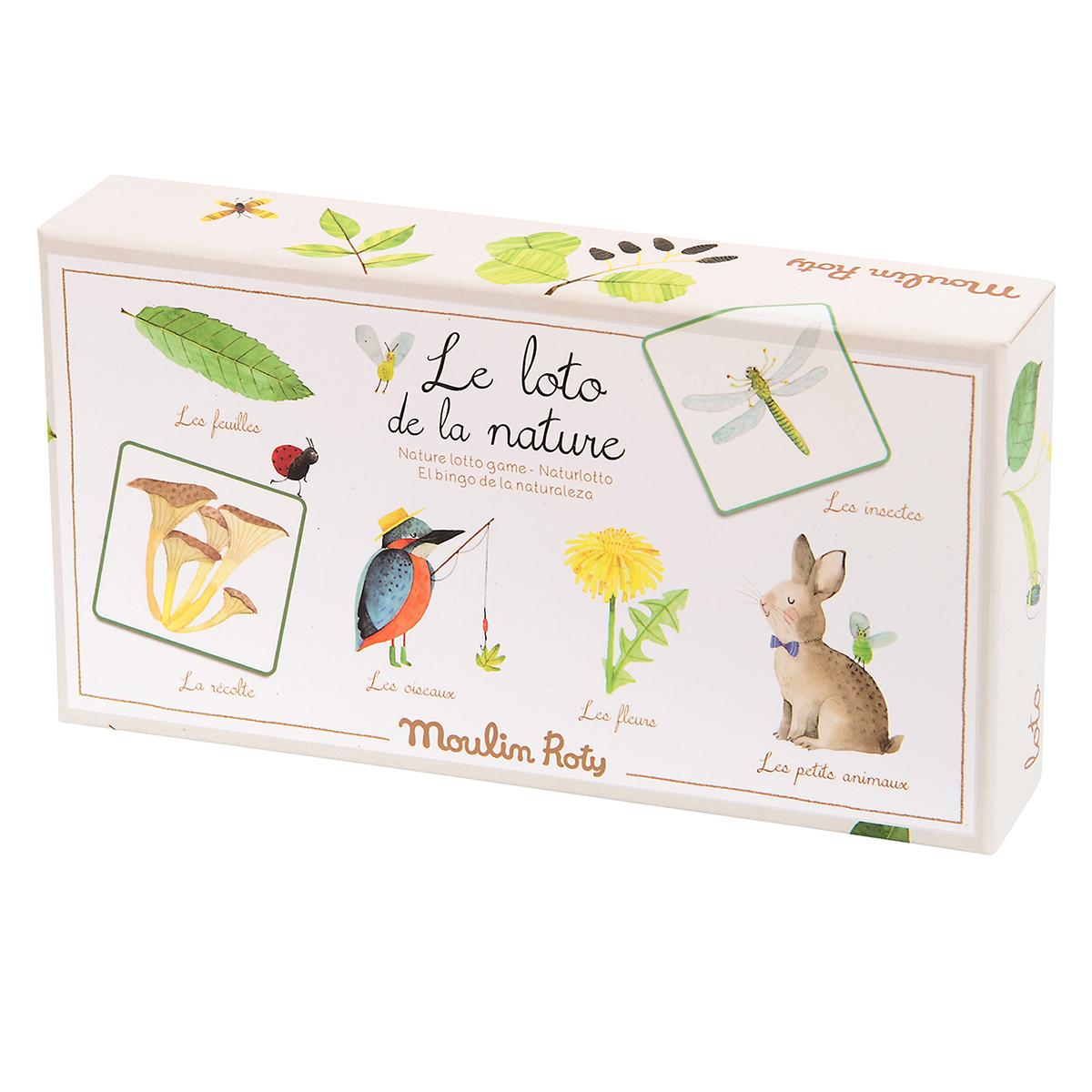 Mes premiers jouets Loto de la Nature - Le Jardin du Moulin Loto de la Nature - Le Jardin du Moulin