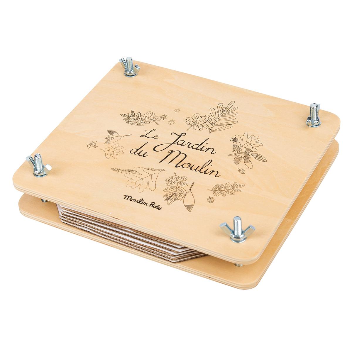 Livre & Carte Presse à Fleurs - Le Jardin du Moulin Presse à Fleurs - Le Jardin du Moulin