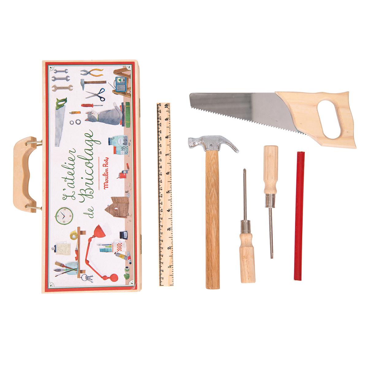 Mes premiers jouets Petite Valise de Bricolage - Les Jouets d'Hier Petite Valise de Bricolage - Les Jouets d'Hier