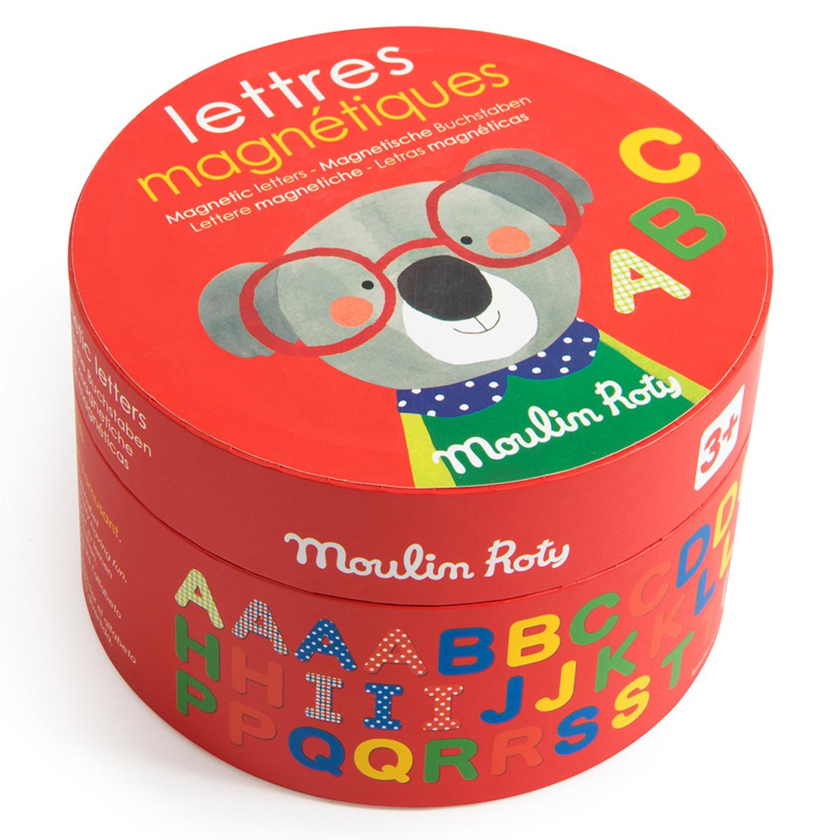 Objet décoration Lot de 54 Lettres Magnétiques - Les Popipop Lot de 54 Lettres Magnétiques - Les Popipop
