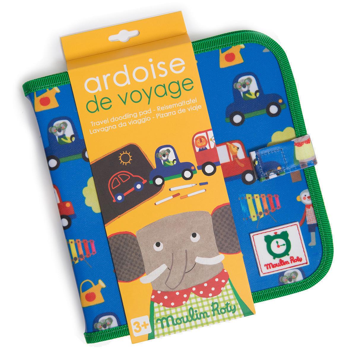 Mes premiers jouets Ardoise de Voyage - Les Popipop Ardoise de Voyage - Les Popipop