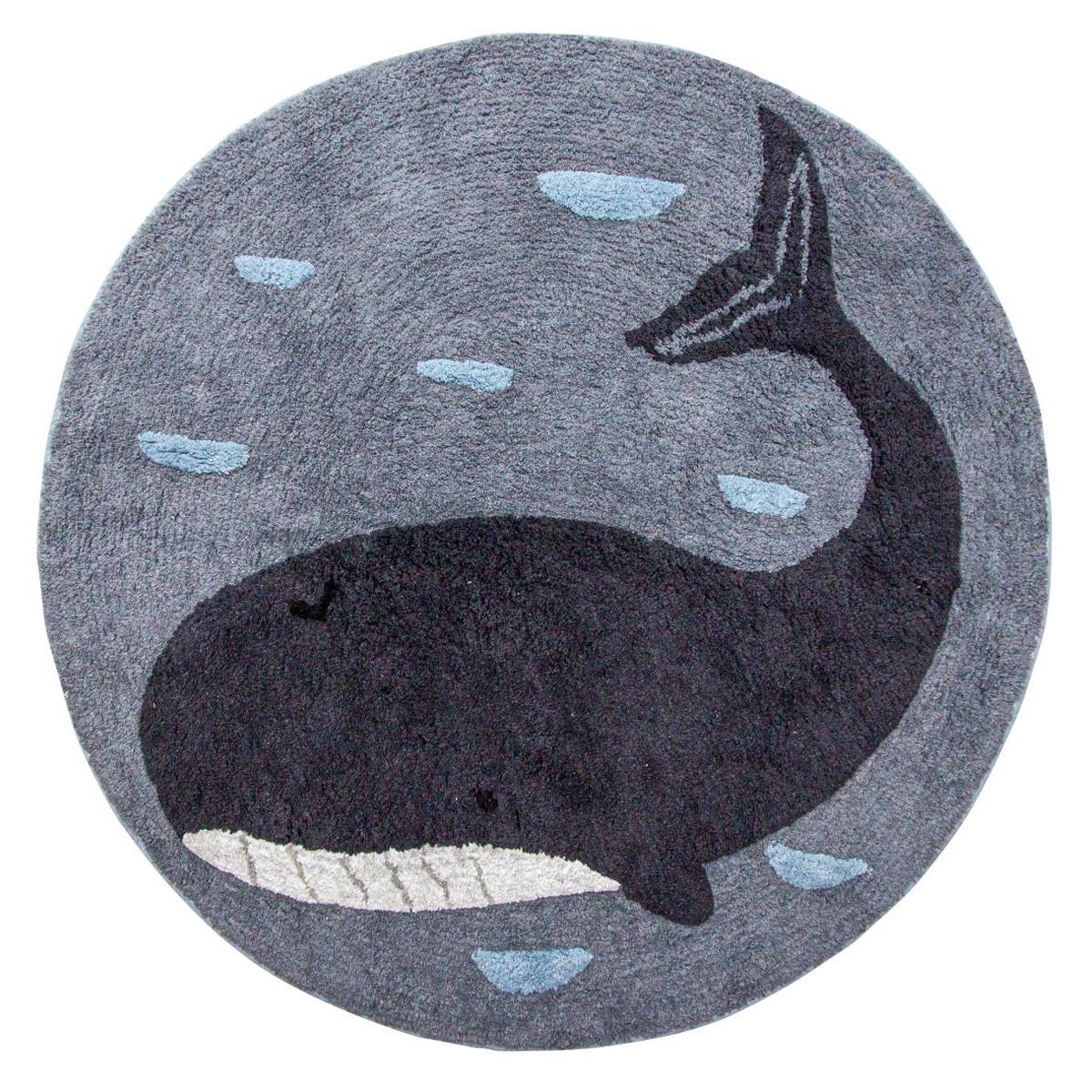 Tapis Tapis Marion la Baleine - Ø 120 cm Tapis Marion la Baleine - Ø 120 cm