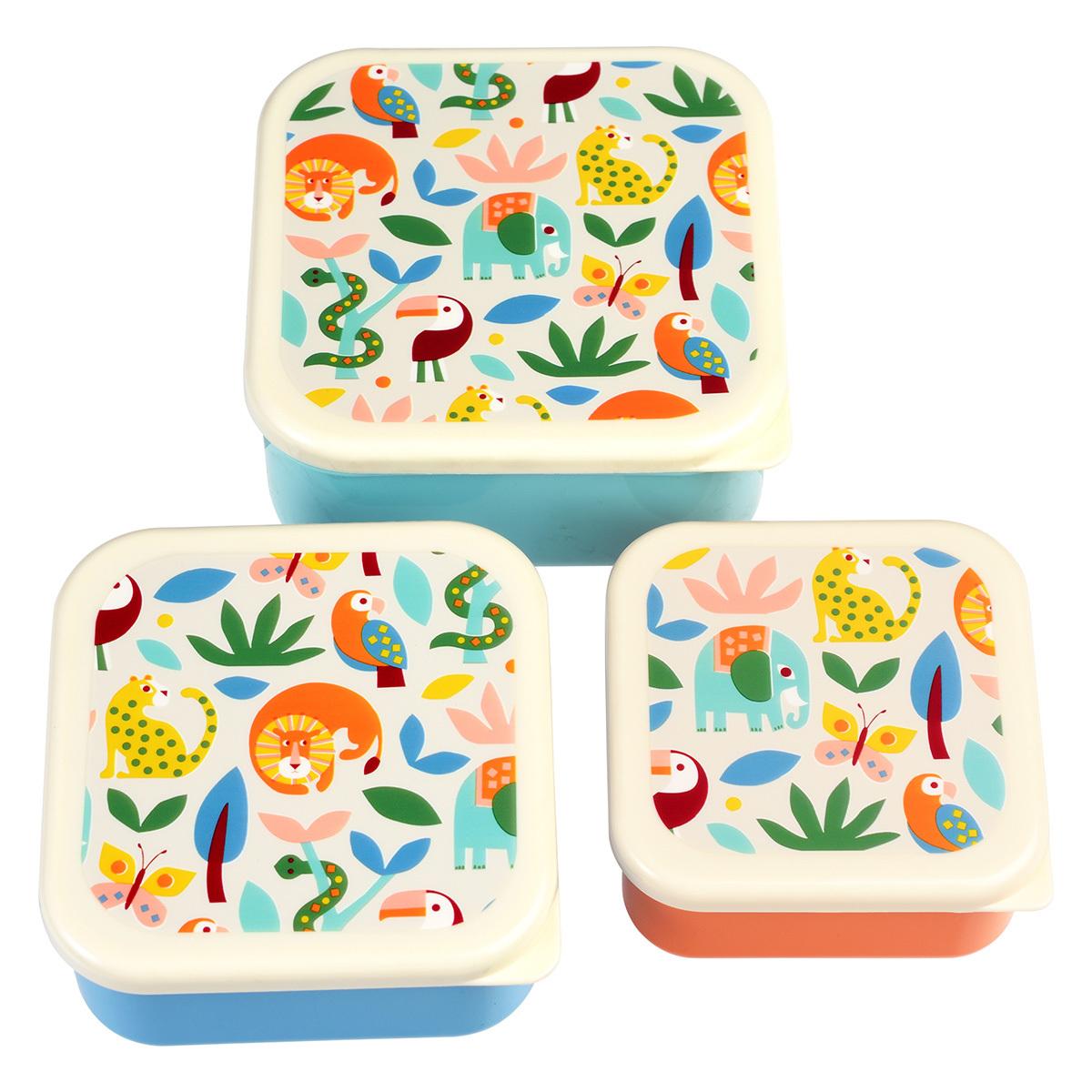 Vaisselle & Couvert Lot de 3 Boîtes - Wild Wonders Lot de 3 Boîtes - Wild Wonders
