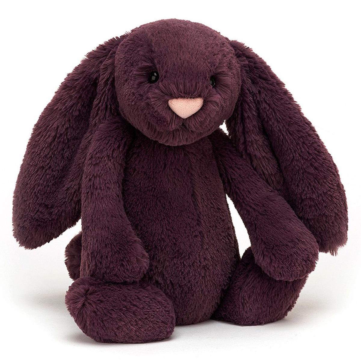 Peluche Bashful Plum Bunny - Medium Peluche Lapin 31 cm