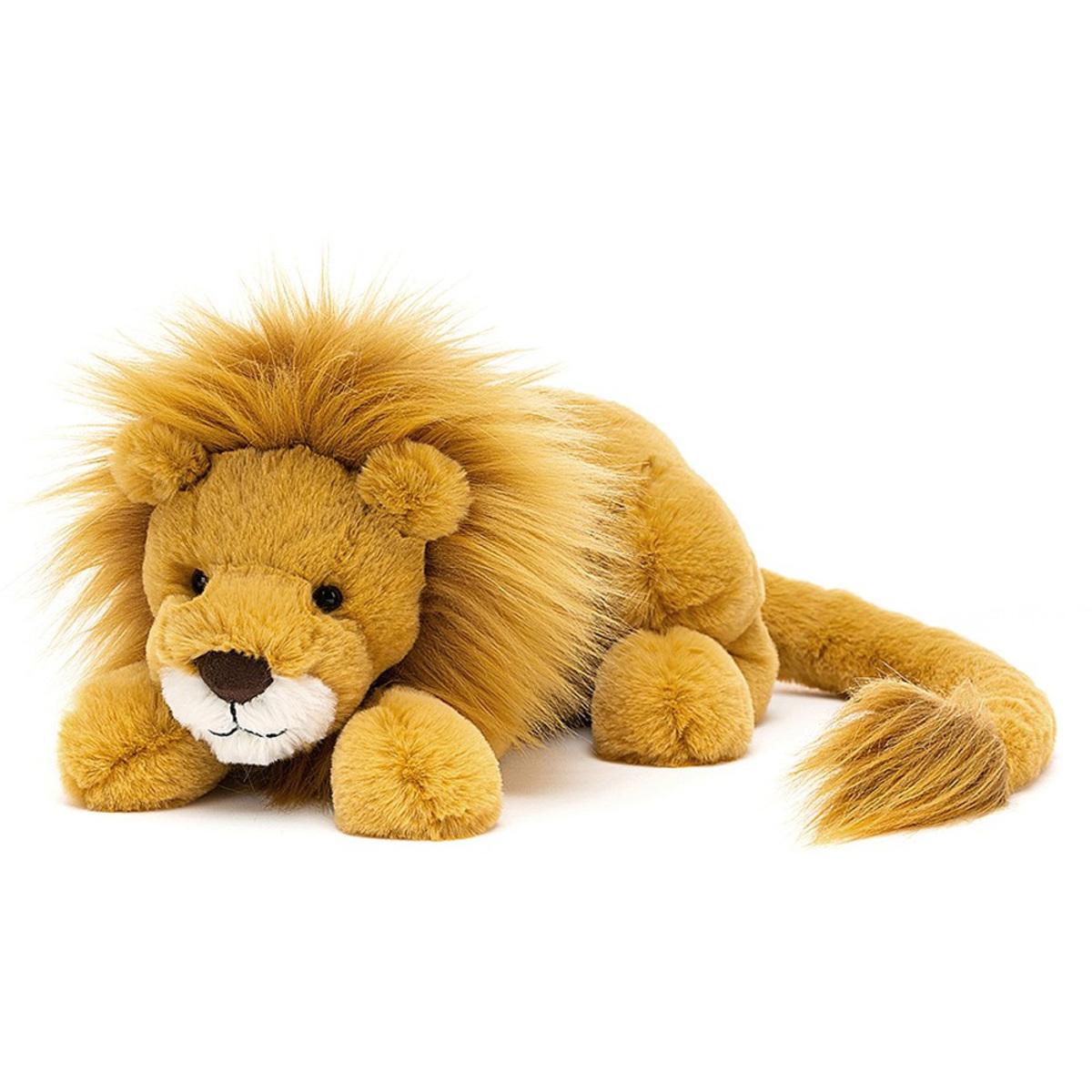 Peluche Louie Lion - Medium Peluche Lion 27 cm