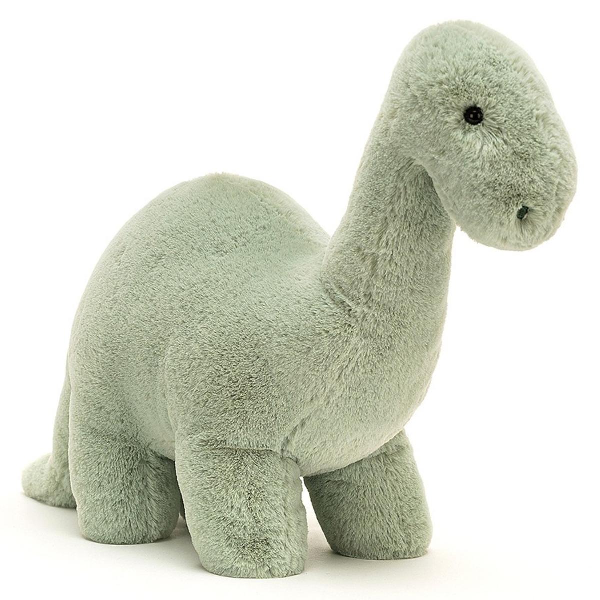 Peluche Fossilly Brontosaurus - Medium Peluche Brontosaure 26 cm