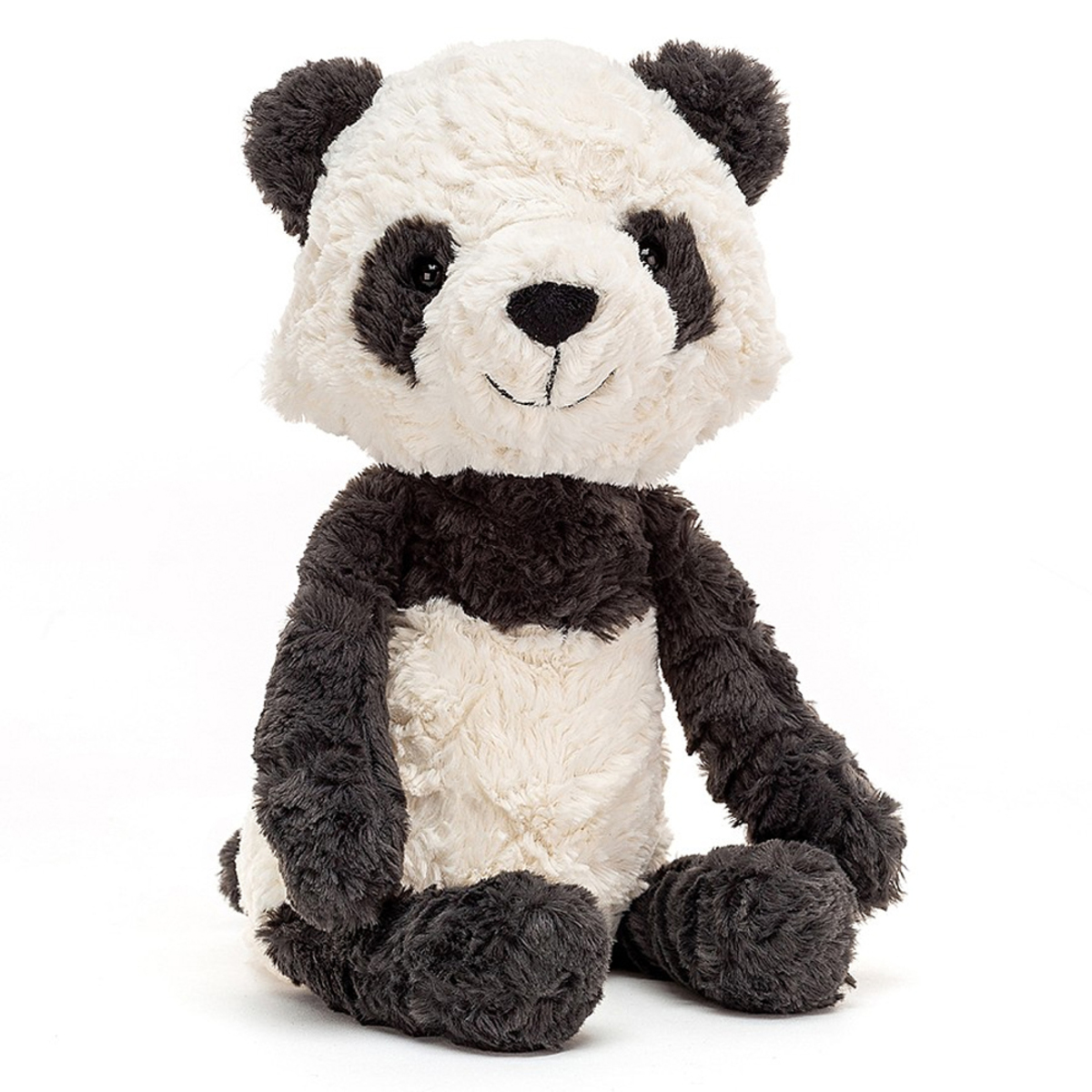 Peluche Tuffet Panda - Medium Peluche Panda 31 cm