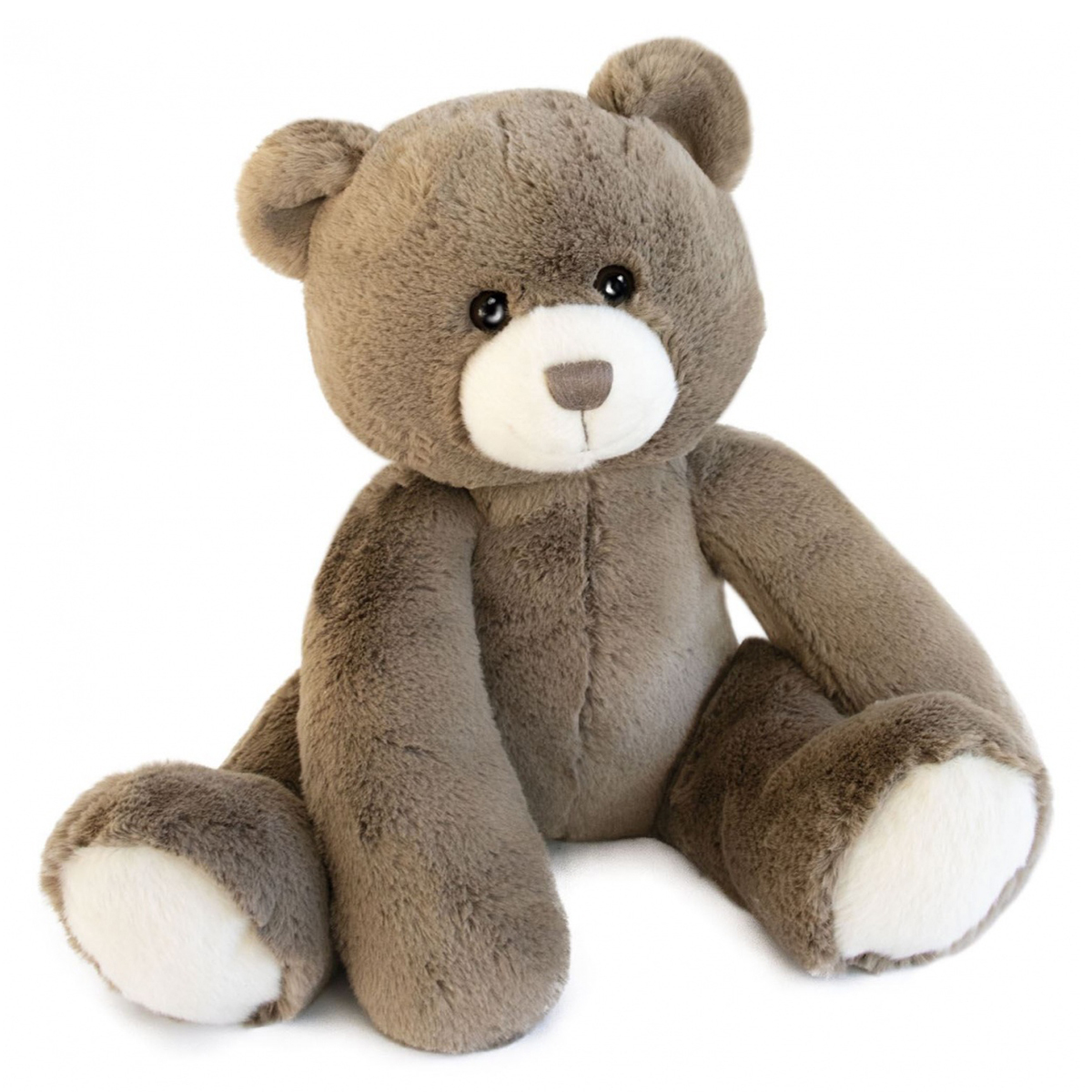 Peluche Oscar l'Ours Taupe - Les Ours Peluche Ours 35 cm