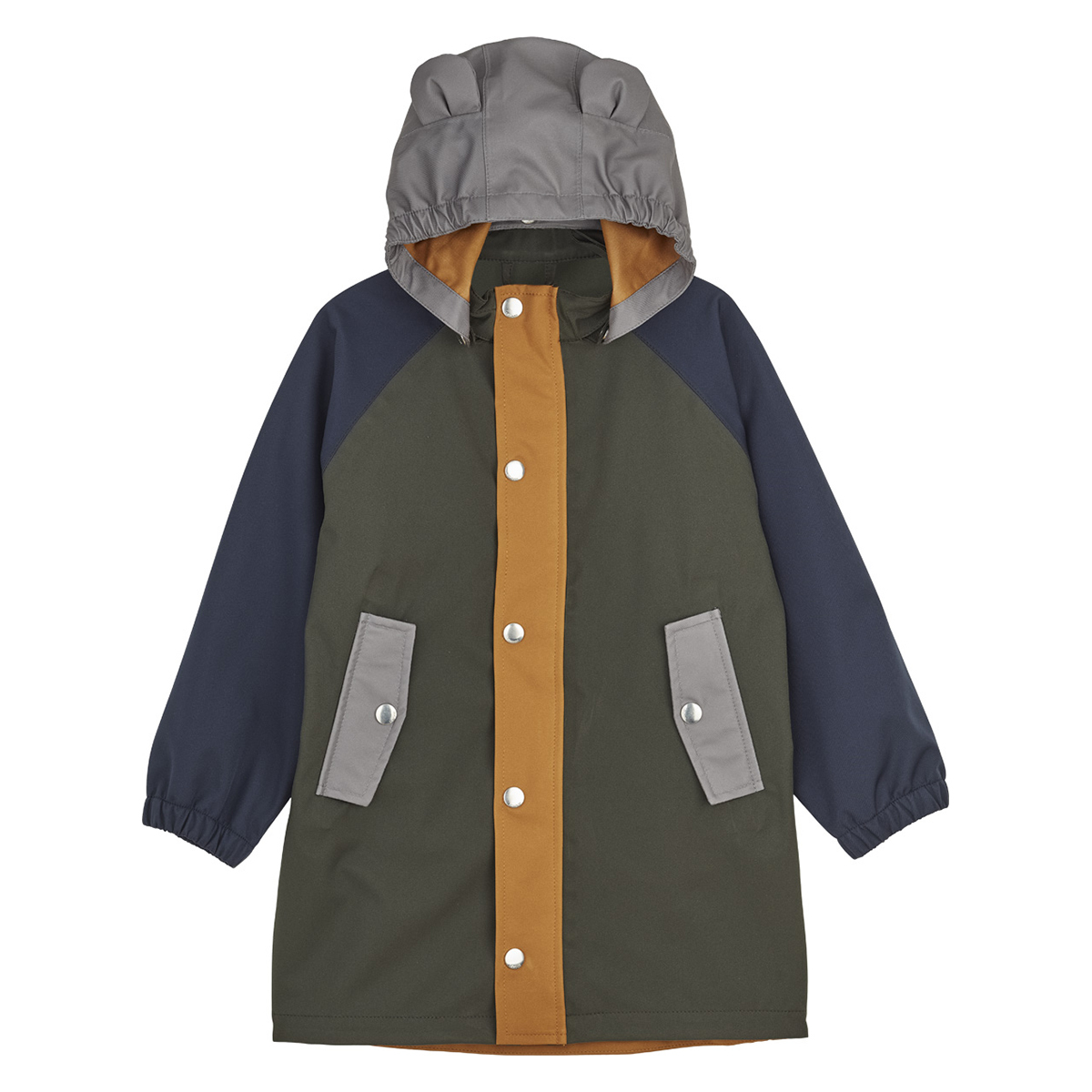 Haut bébé Imperméable Blake Hunter Green Multi Mix - 12 Mois Imperméable Blake Hunter Green Multi Mix - 12 Mois