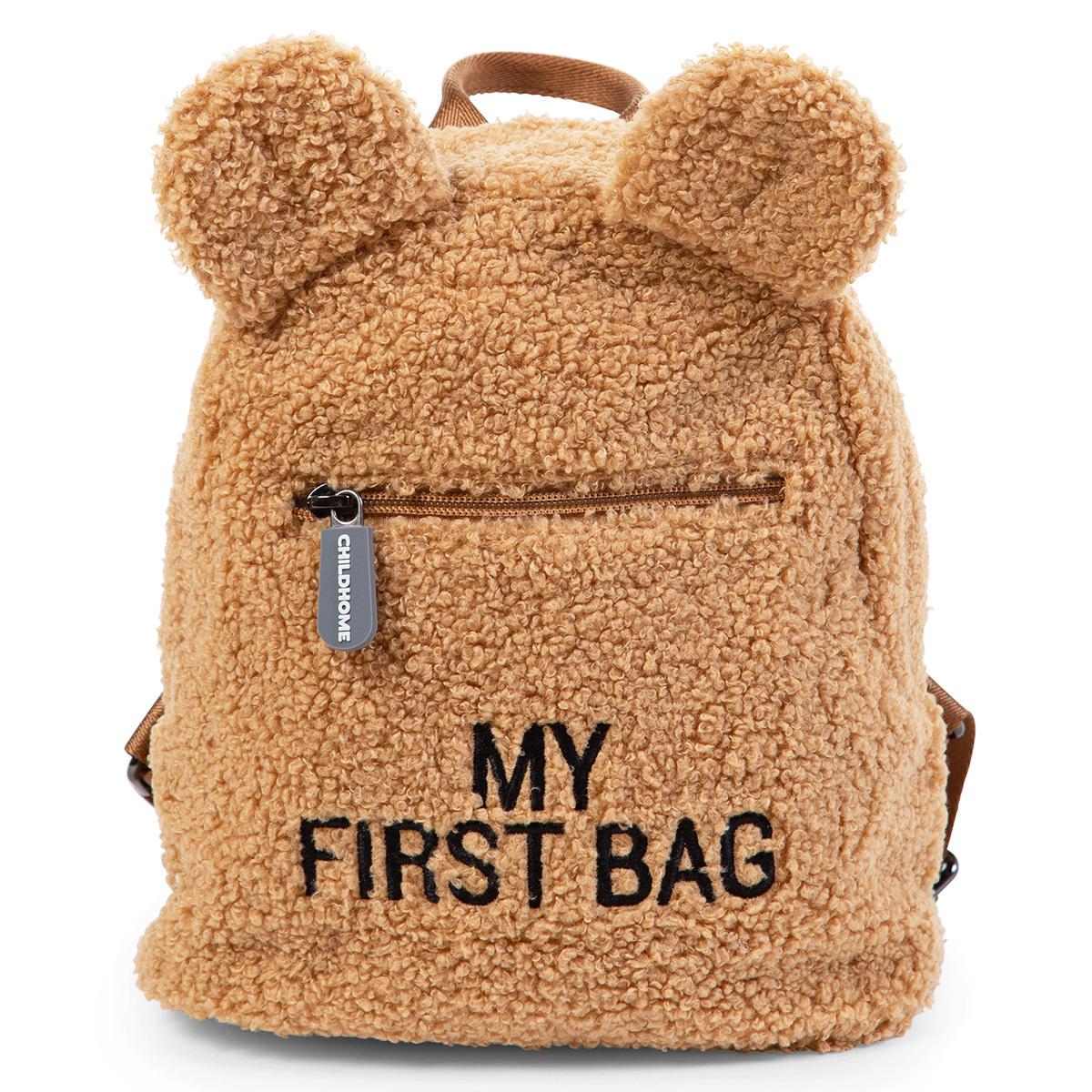Bagagerie enfant Sac à Dos My First Bag - Teddy Beige Sac à Dos My First Bag - Teddy Beige