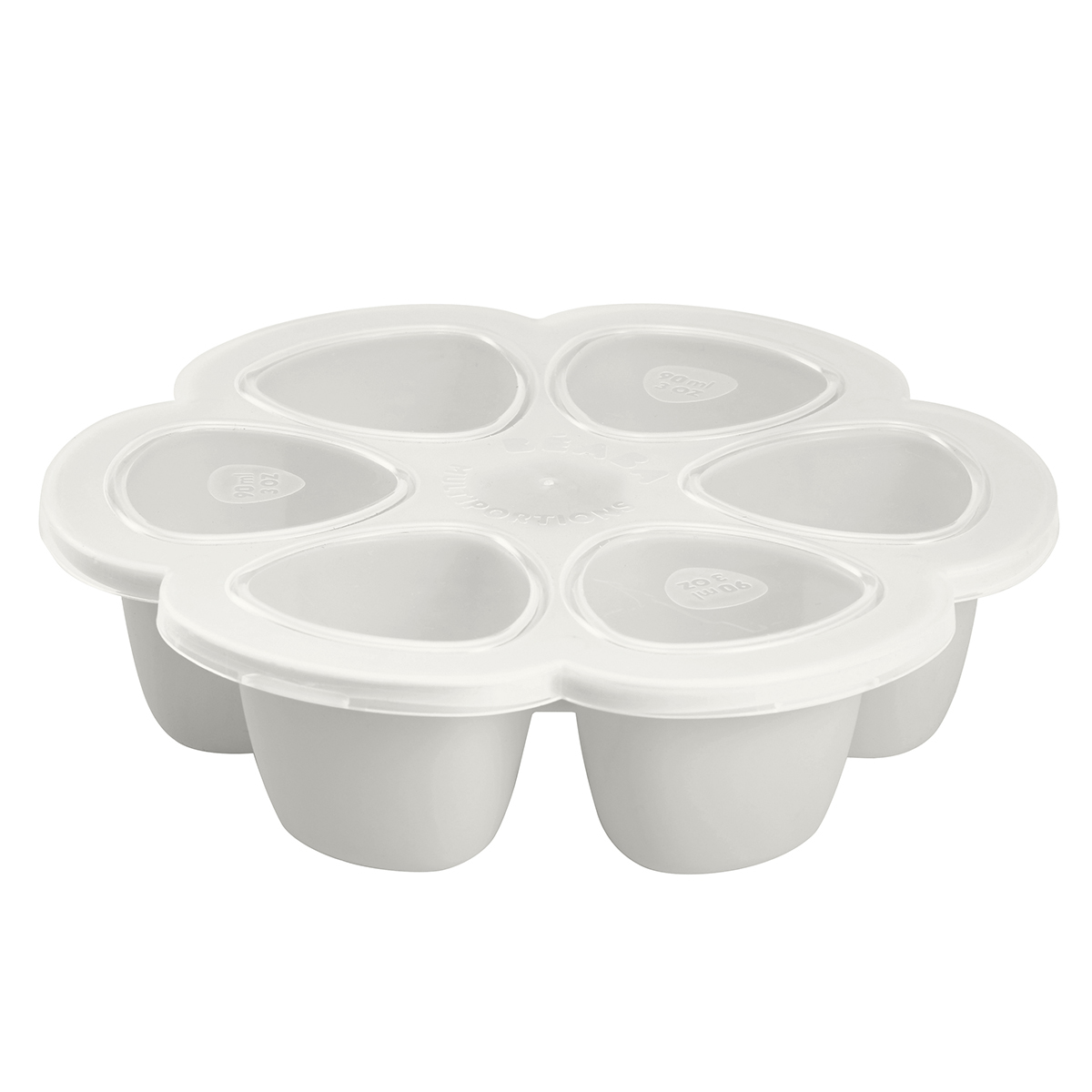 Vaisselle & Couvert Multiportions Silicone 6 x 90 ml - Light Mist Multiportions Silicone 6 x 90 ml - Light Mist