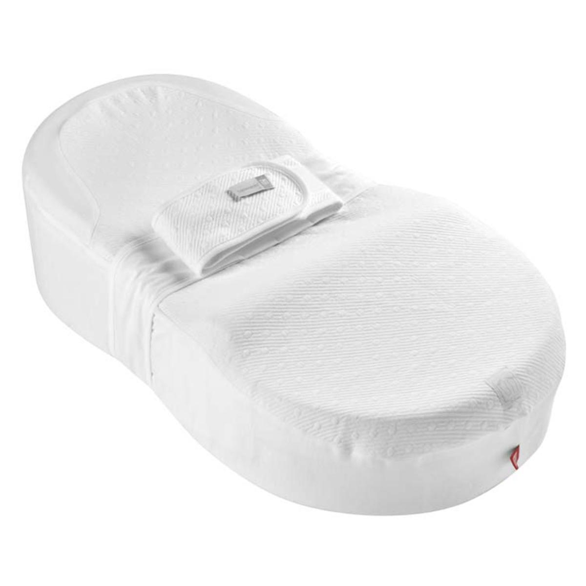 Inclinateur Cocoonababy + Drap Bulle de Coton - Blanc Cocoonababy + Drap Bulle de Coton - Blanc