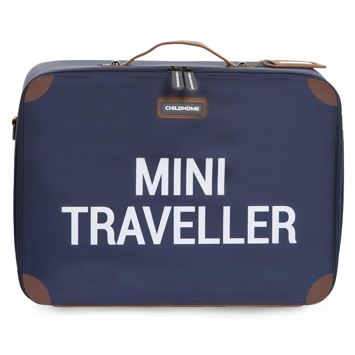 Bagagerie enfant Valise Mini Traveller - Marine et Blanc Valise Mini Traveller - Marine et Blanc