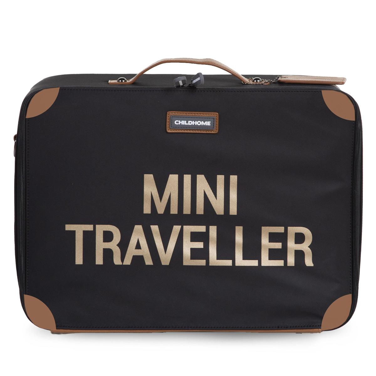 Bagagerie enfant Valise Mini Traveller - Noir et Or Valise Mini Traveller - Noir et Or