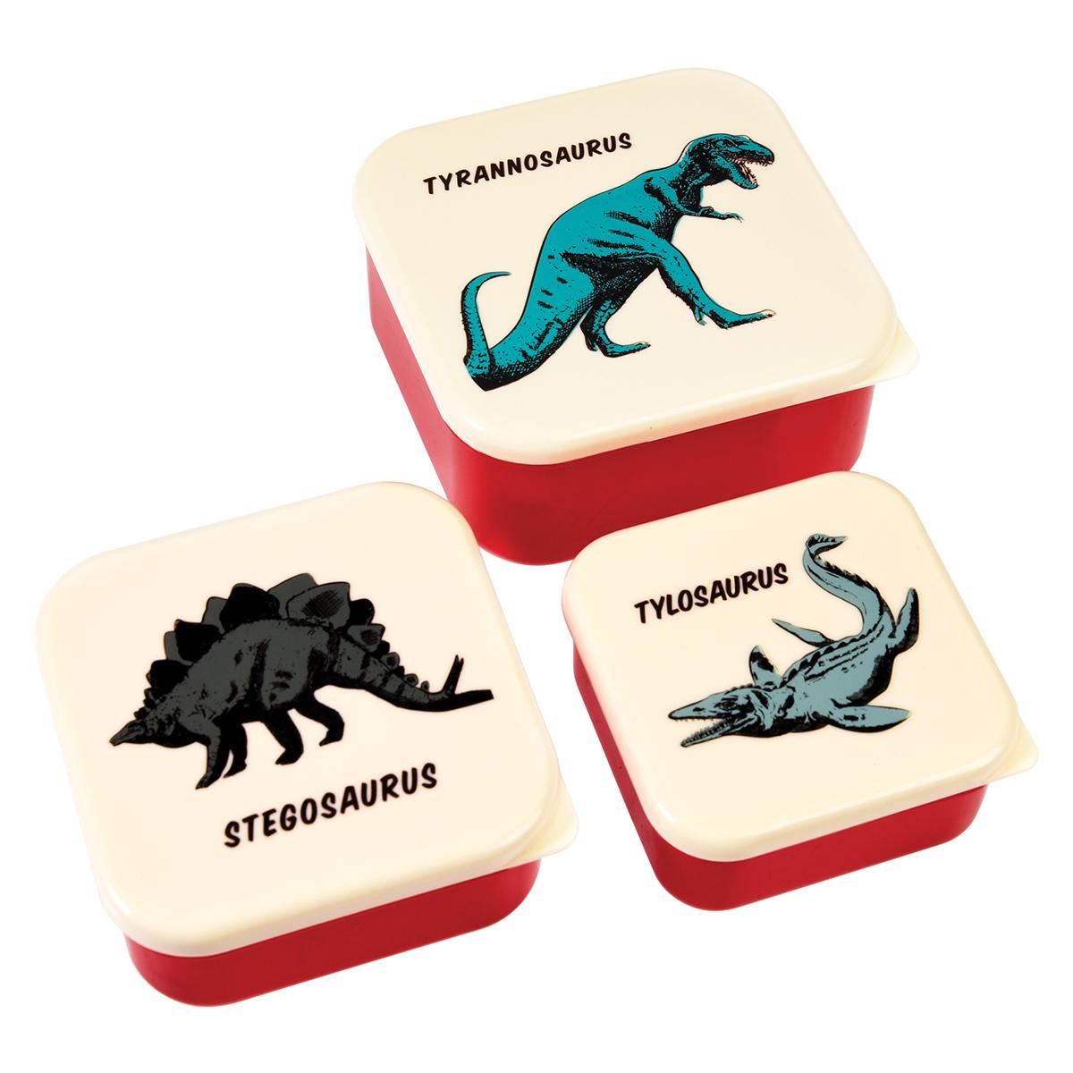 Vaisselle & Couvert Lot de 3 Boîtes - Dino Lot de 3 Boîtes - Dino