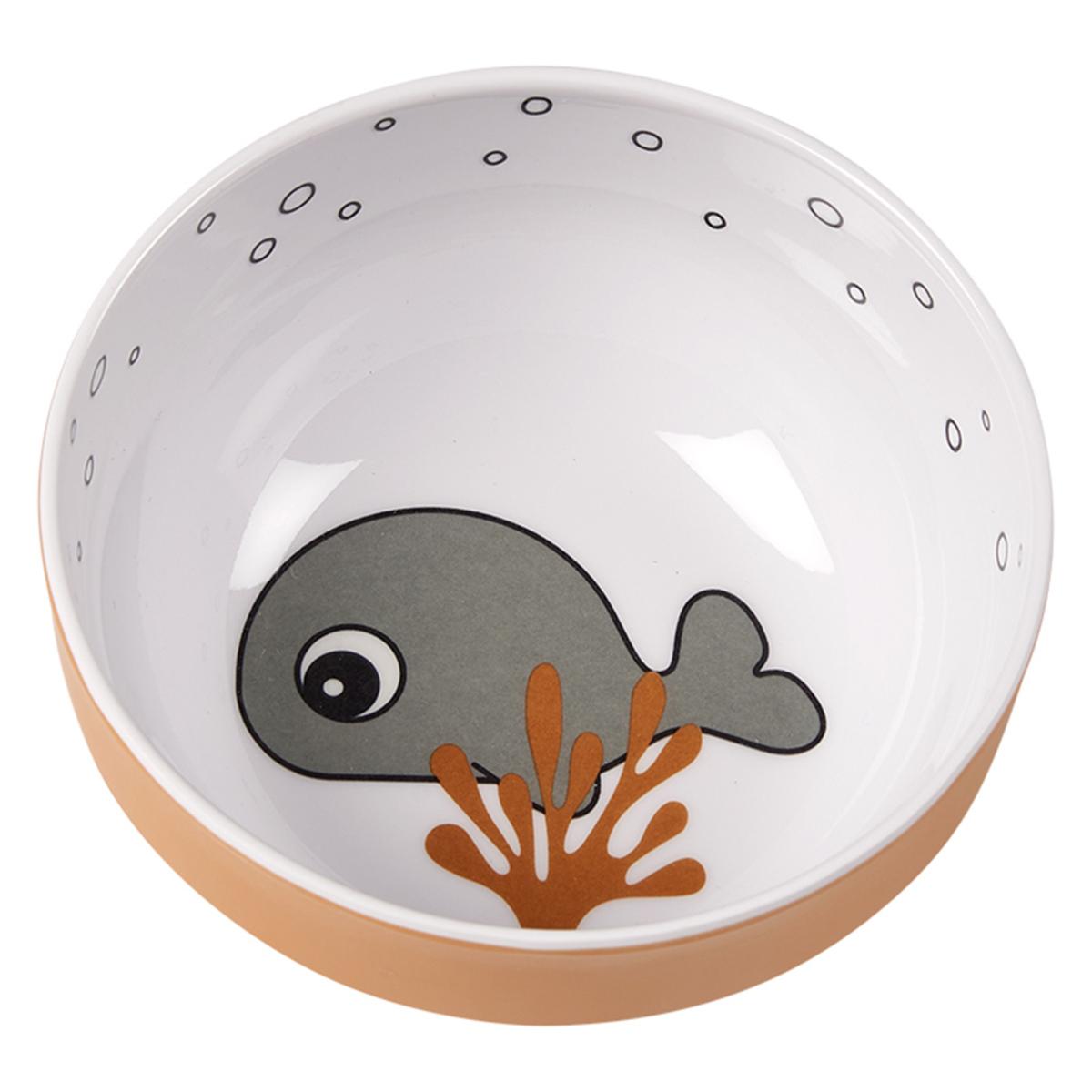 Vaisselle & Couvert Mini Bol - Sea Friends Moutarde et Gris Mini Bol - Sea Friends Moutarde et Gris