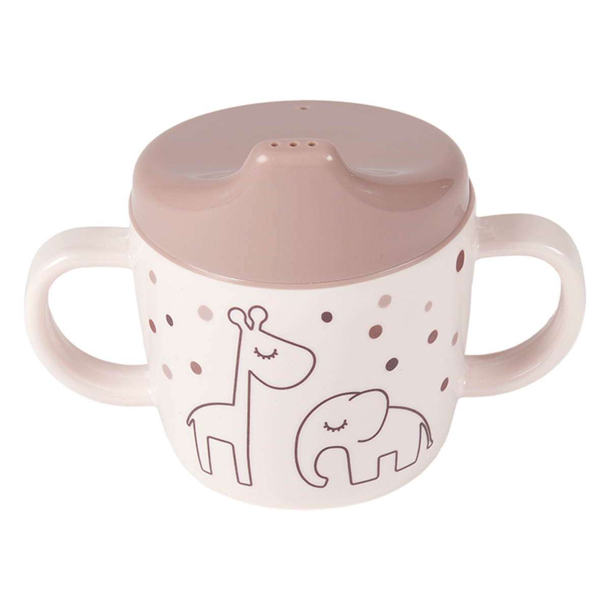 Tasse & Verre Tasse d'Apprentissage Dreamy Dots Rose - 230 ml Tasse d'Apprentissage Dreamy Dots Rose - 230 ml