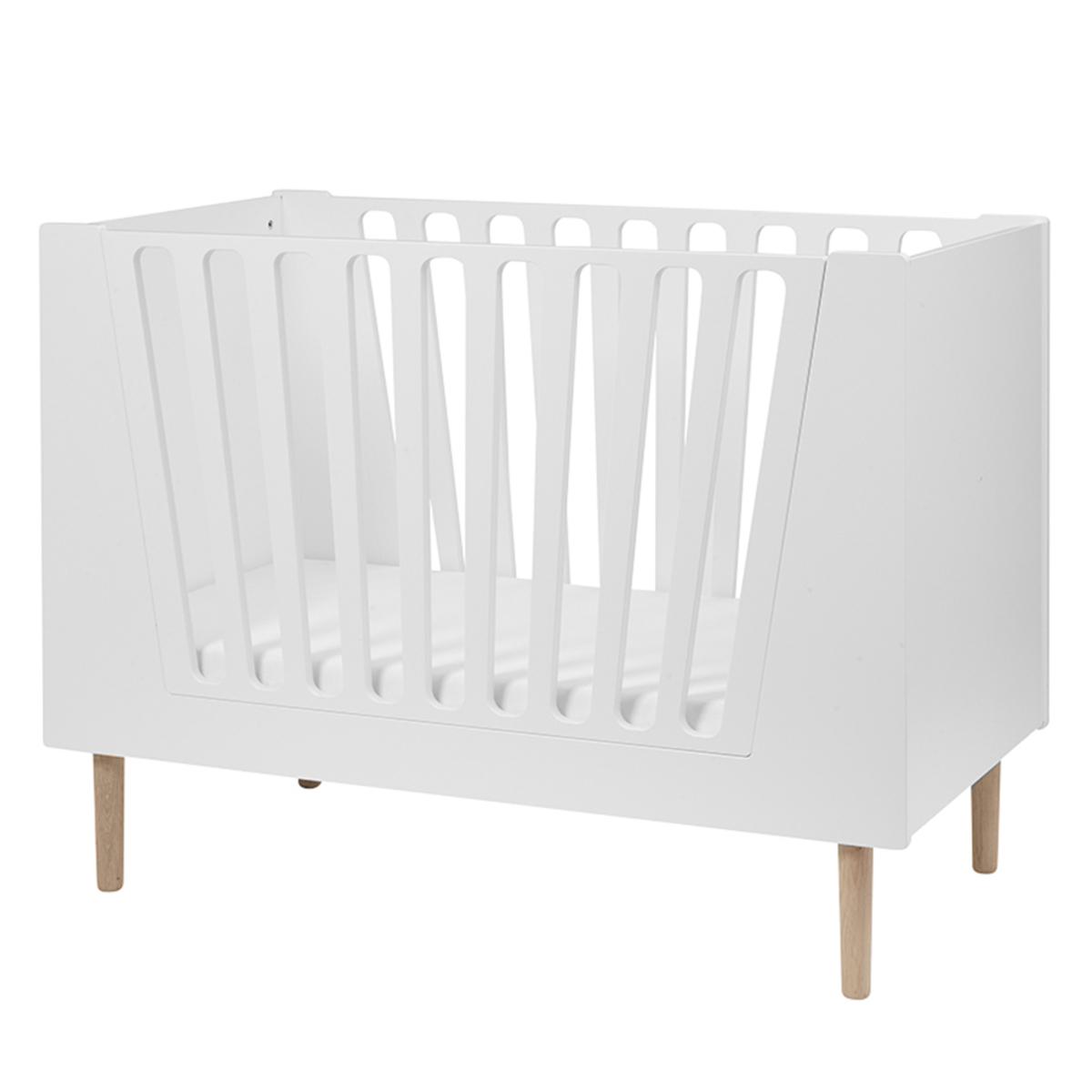 Lit bébé Lit Bébé Evolutif Blanc - 60 x 120 cm Lit Bébé Evolutif Blanc - 60 x 120 cm