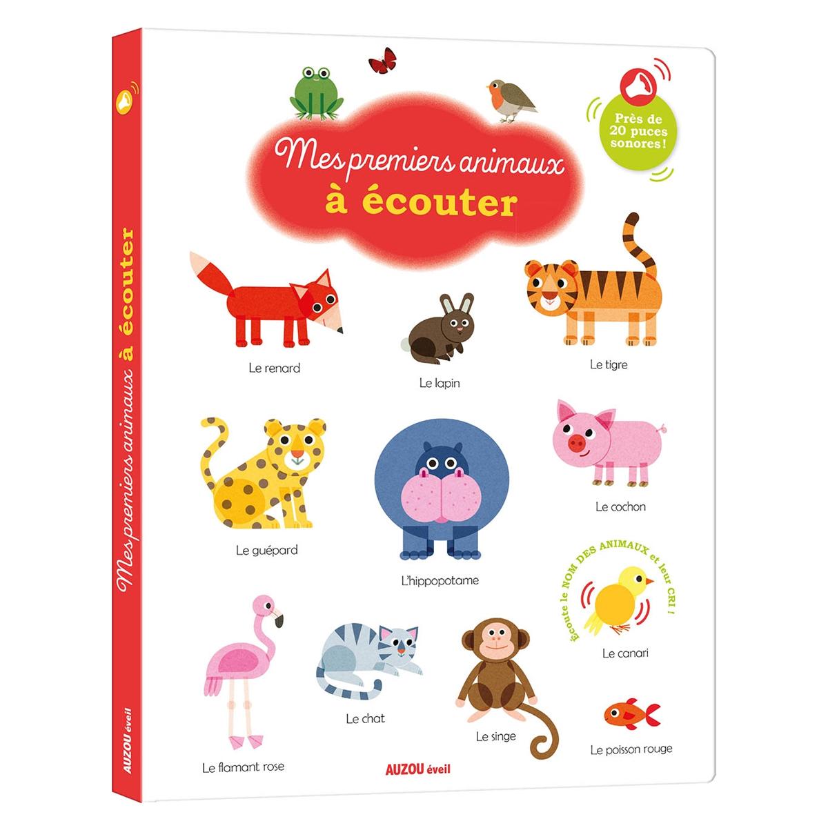 Livre & Carte Mes Premiers Animaux à Ecouter Collection Mes Premiers Livres à Ecouter