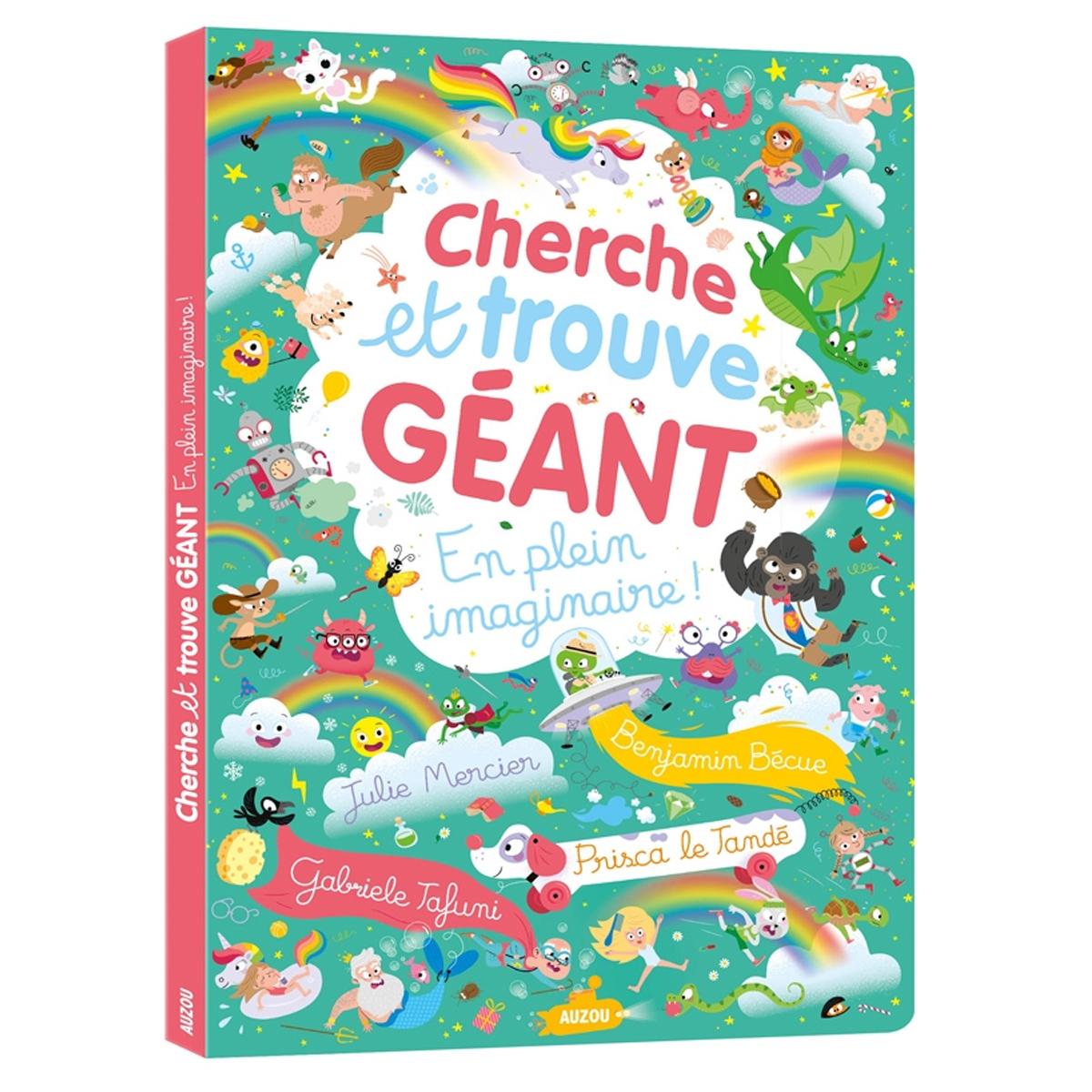 Livre & Carte En Plein Imaginaire Collection Cherche et Trouve Géant
