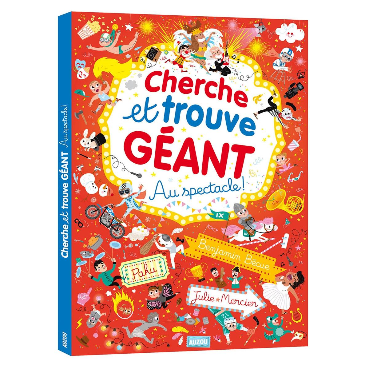 Livre & Carte Au Spectacle Collection Cherche et Trouve Géant